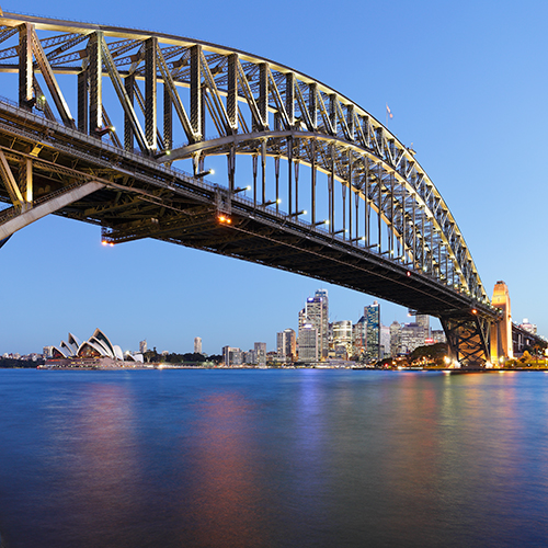 Trending Harbour Bridge Colours